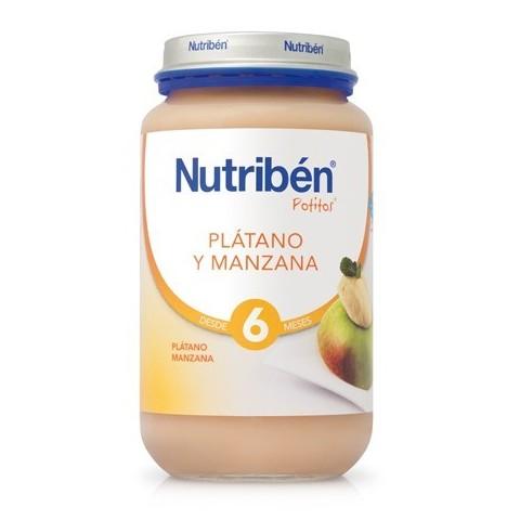 Nutribén Manzana y Plátano Potito Grandote 235g