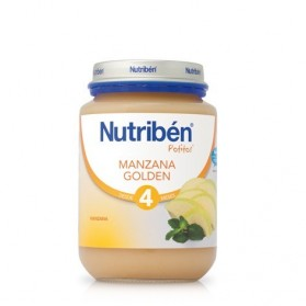 Nutriben manzana golden  potito junior 200 g