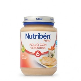 Nutriben pollo con verduras  potito junior 200 g