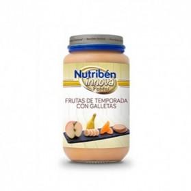 Nutriben Innova Frutas Temporada y Galleta Potito Grandote 235g