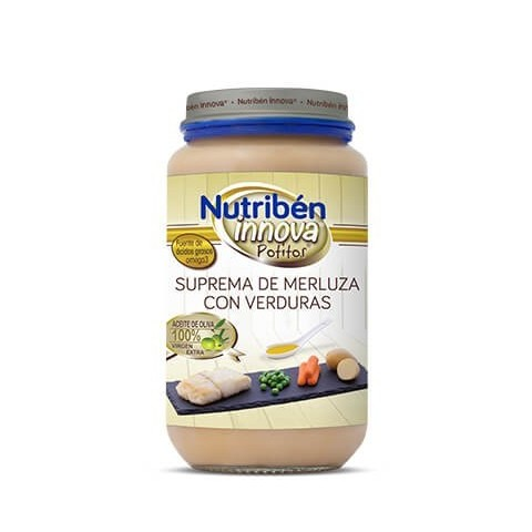 Nutriben innova verduras selectas con pollo potito grandote 235 g