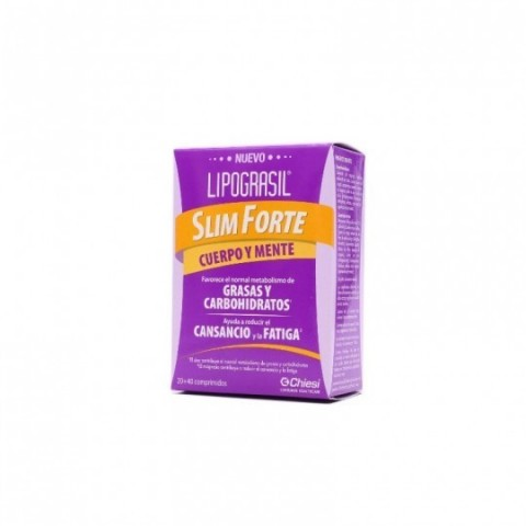 Lipograsil Slim Forte 20 + 40 comprimidos