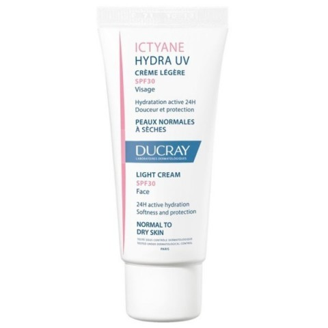 Ictyane Hydra UV crema ligera SPF 30 Ducray 40 ml
