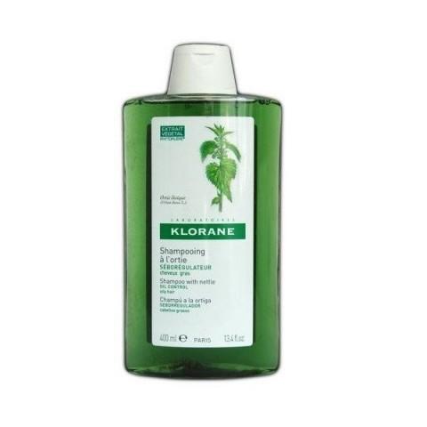 Klorane champú seborregulador al extracto de ortiga 400 ml