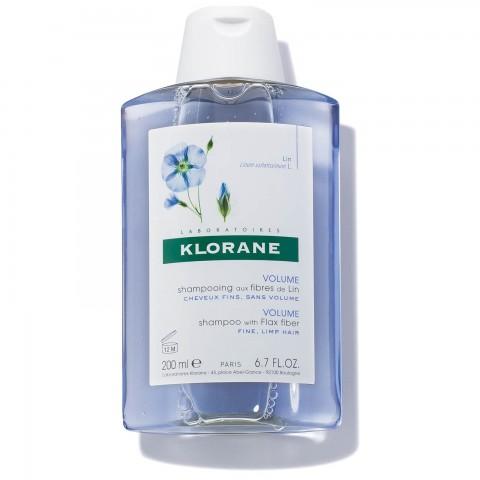 Klorane Champú a las Fibras de Lino 200 ml