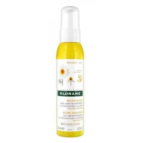 Klorane Spray aclarador a la Camomila y a la Miel 125ml