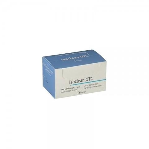 Isoclean OTC Toallitas Alcohol Iisopropílico 70% 50 unidades