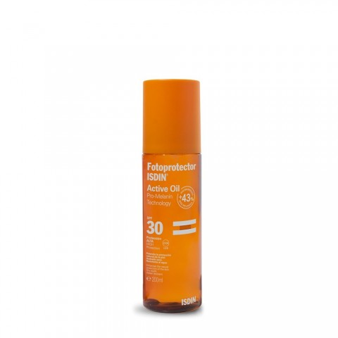 fotoprotector isdin active oil spf 30 200 ml