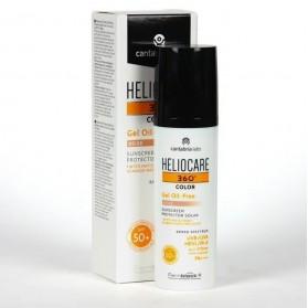 Heliocare 360º SPF50+ color Beige Gel Oil free 50 ml
