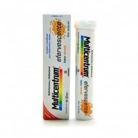Multicentrum Efervescente sabor Naranja 20 comprimidos