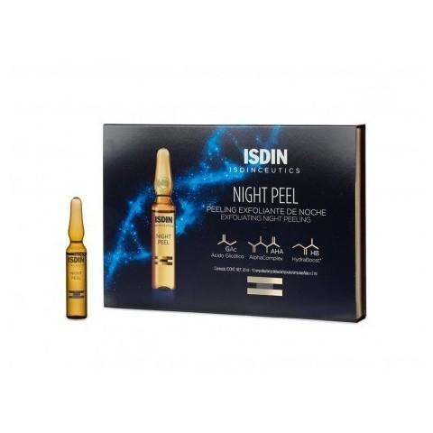 Isdinceutics Night Peel exfoliante de noche 10 ampollas