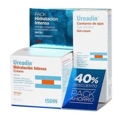 Pack Ureadin crema Hidratación Intensa + Contorno de Ojos
