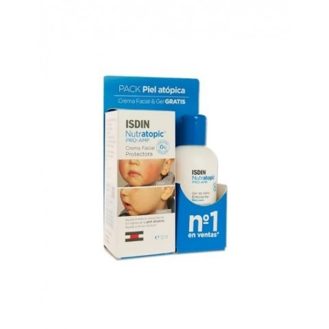 Pack Nutratopic Pro AMP facial-50ml más corporal 100ml