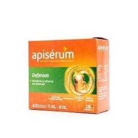Caja de complejo vitamínico 18 viales de Apisérum Defensas