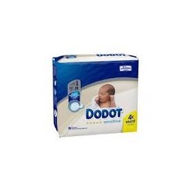 Pañal dodot sensitive recién nacido talla 2  3-6 kg 30 unidades