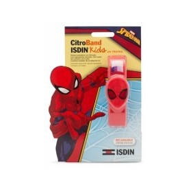pulsera isdin kids spiderman uv tester 2 recargas