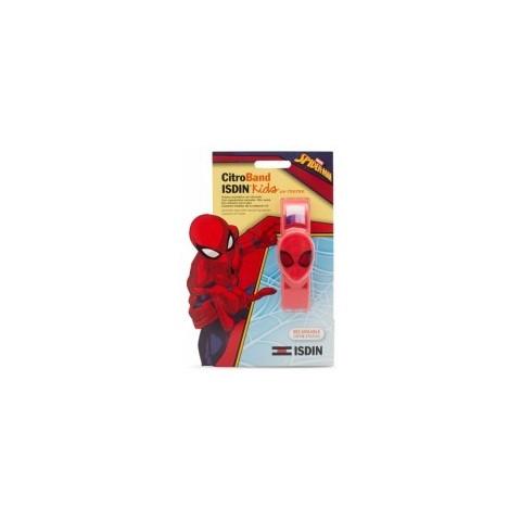 pulsera isdin kids spiderman uv tester 2 recargas
