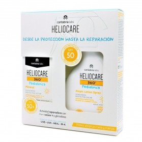 pack heliocare 360 pediatrics mineral spf 50 50 ml locion spf 50 200 ml
