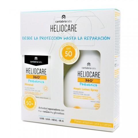 pack heliocare 360 pediatrics mineral spf 50 50 ml locion spf 50 200 ml