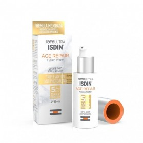 fotoprotector isdin age repair fusion water spf 50 50 ml