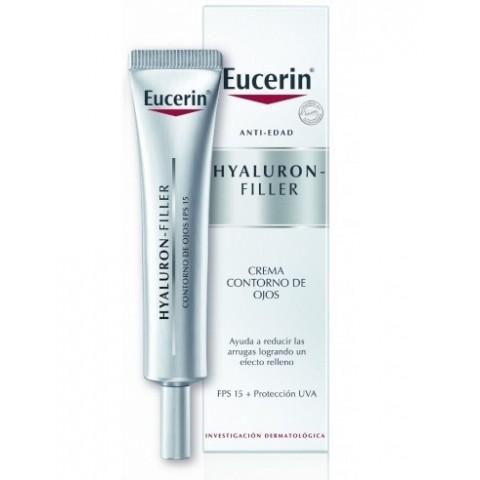 Eucerin Hyaluron Filler Contorno de Ojos SPF 15 15 ml