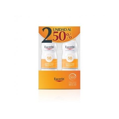Duplo Eucerin Sun Protect spray SPF 50 2x200 ml