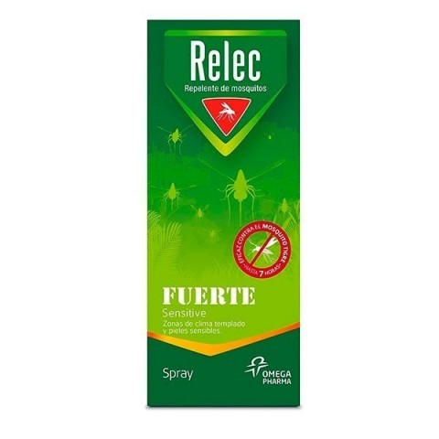 Relec fuerte spray repelente mosquitos 75 ml