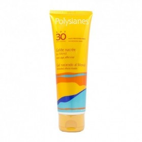 Polysianes gel nacarado spf 30 al monoï 125 ml