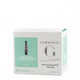Germinal Acción Profunda Antioxidante Noche 30 ampollas