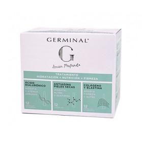 Germinal Pack Hidratación, Nutrición y Firmeza 36 ampollas