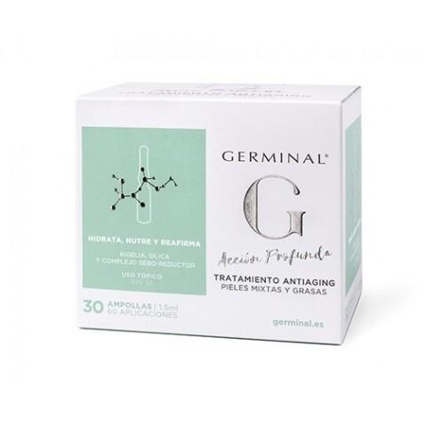 Germinal Acción Profunda Tratamiento Antiaging 30 ampollas
