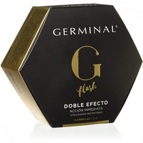 Germinal 5 Ampollas Flash Doble Efecto