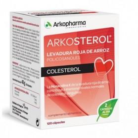 Arkosterol levadura roja de arroz 120 cápsulas