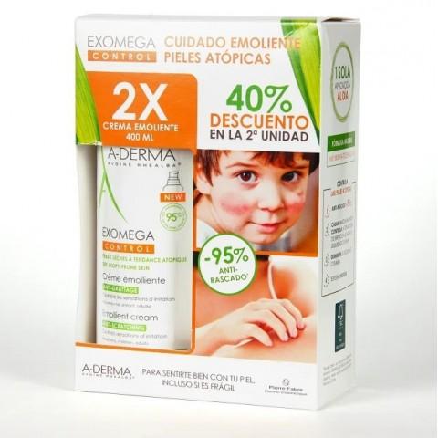 Pack Exomega Control Crema Emoliente 2x400 ml