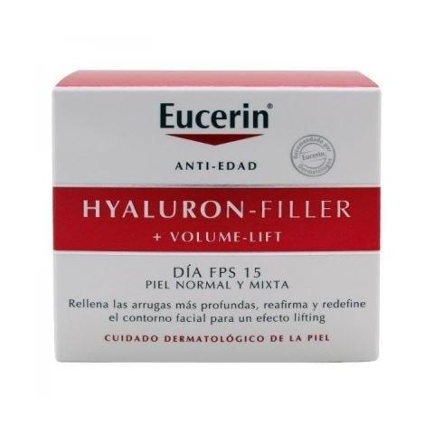 Eucerin Hyaluron-Filler +Volume-Lift Día Piel Normal Mixta 50ml