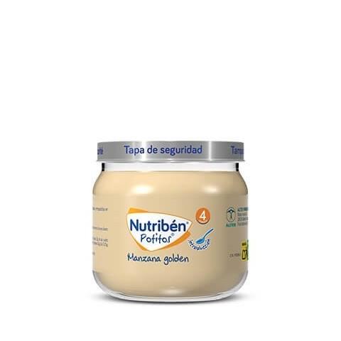 Nutriben manzana golden  potito de inicio 130 g