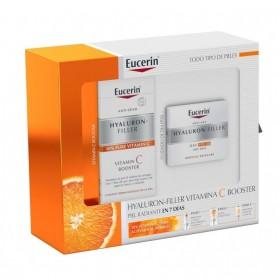 Pack Eucerin Hyaluron-Filler Crema Día + Vit C Booster