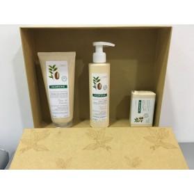 Klorane Pack Fleur de Cupuaçu Crema de Ducha + Leche Corporal + Jabón Crema
