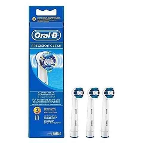 Oral B Recambio de Cabezales Precision Clean 3 Unidades