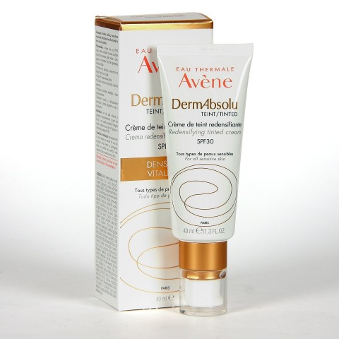 Avene Dermabsolu Crema Redensificante coloreada 40 ml