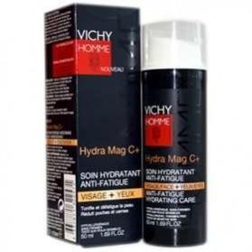 Vichy Hydra Mag C+ Hidratante Antifatiga para hombre 50 ml