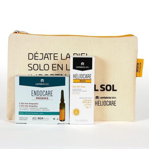Pack Heliocare 360º Gel Oil-Free SPF 50 + Ampollas Endocare Radiance