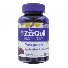 Vicks ZzzQuil NATURA Melatonina 60 Gominolas