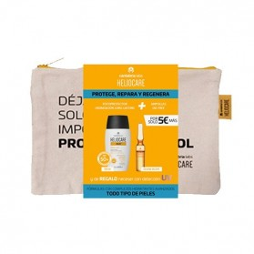 Heliocare Pack 360º Water Gel SPF 50 + Ampollas Endocare Radiance