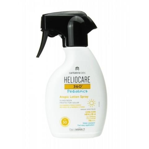 Heliocare 360º Pediatrics SPF 50 Atopic Lotion Spray 250ml
