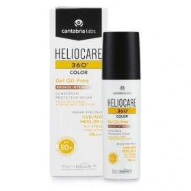 Heliocare 360º Gel Oil-Free Color Bronze Intense SPF 50+ 50ml