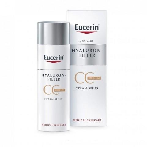 Eucerin Hyaluron-Filler CC Cream SPF 15 50 ml
