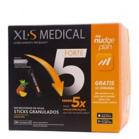 XLS Medical Forte 5 90 Sticks Granulados Nudge Plan