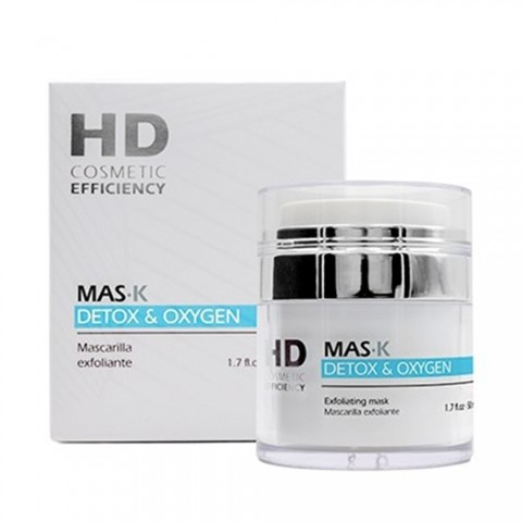 HD Mascarilla Exfoliante Mask Detox & Oxigen 50 ml