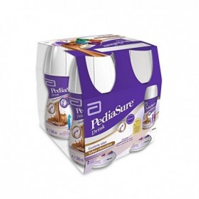 Pediasure drink 200 ml 4 unidades chocolate